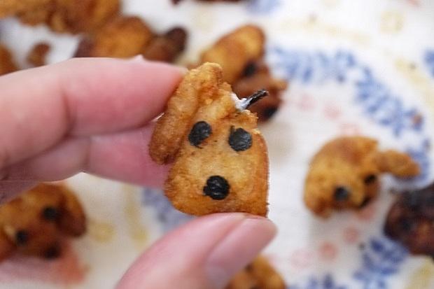 犬の唐揚げ作り方画像