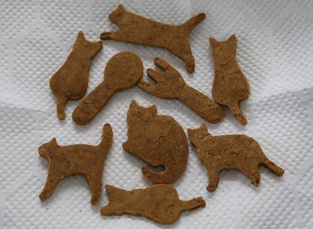 手作りきな粉プロテインクッキーの画像