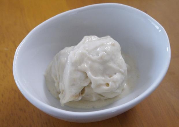 バナナアイスクリームの画像