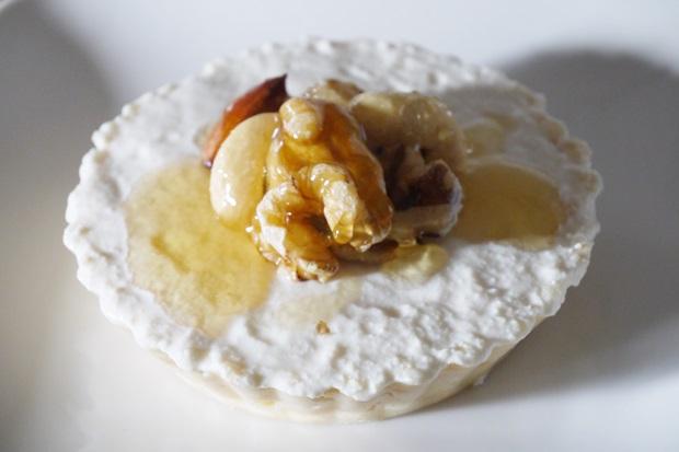 水切りヨーグルトと豆腐のレアチーズケーキレシピの画像