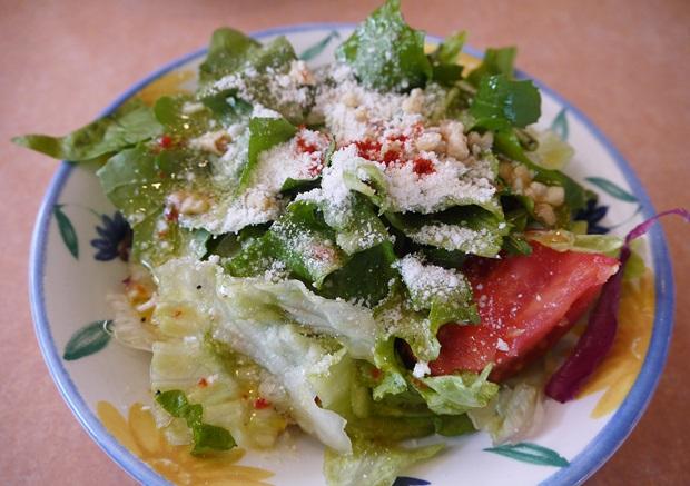 サイゼリヤのグリーンサラダの画像