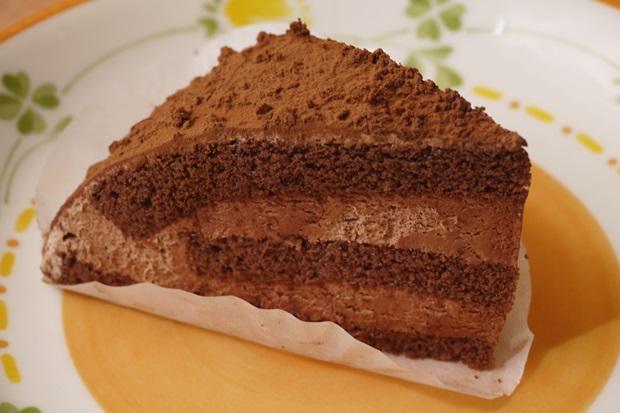 サイゼリヤのチョコレートケーキの画像