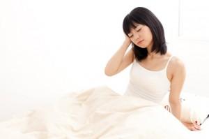 背中にきびストレスと睡眠
