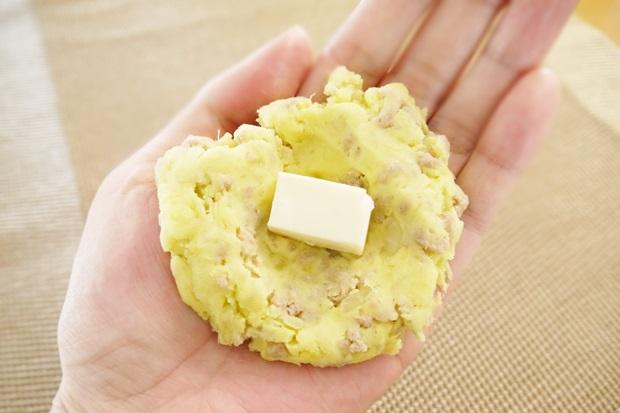 さつまいもコロッケチーズの画像