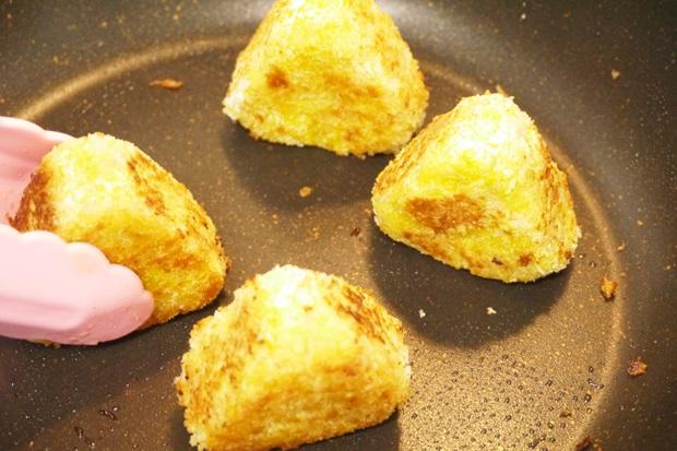 おにぎりさつまいもコロッケチーズの画像