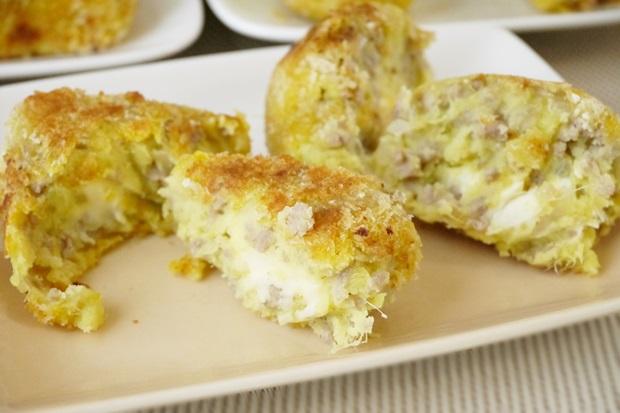 ひき肉チーズサツマイモコロッケ画像