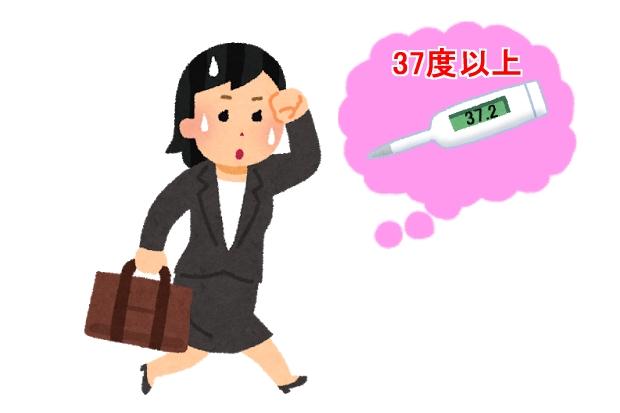 妊娠超初期症状微熱基礎体温が高め寝汗をかく