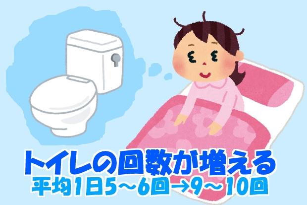 妊娠超初期症状頻尿トイレが近くなる