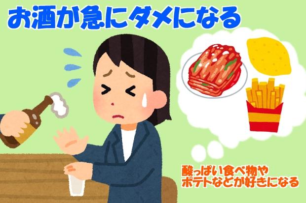 妊娠超初期症状食の好みの変化酸っぱい食べ物