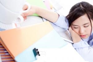 肉体的疲労の蓄積
