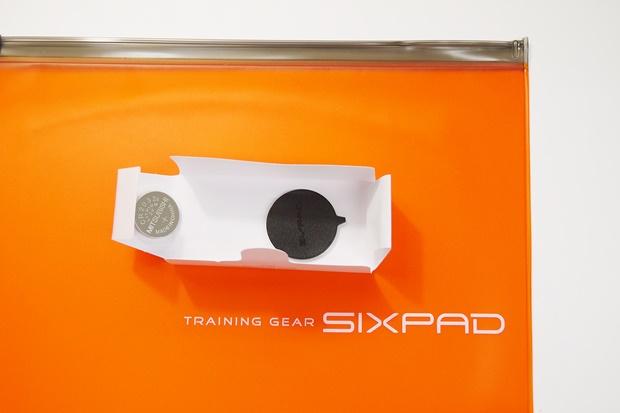 シックスパッド電池