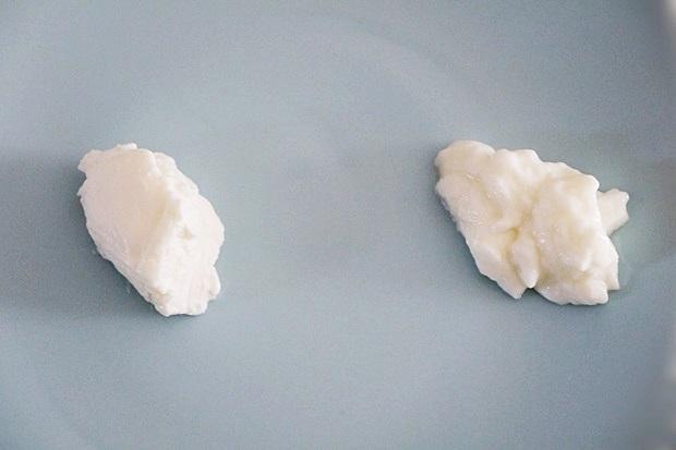 脂肪ゼロ水切りヨーグルト比較画像