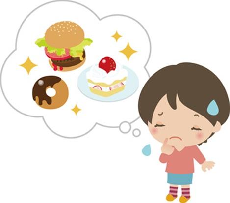 ダイエットで空腹の画像