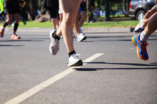 地域のマラソン大会