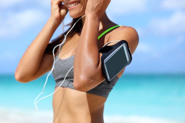 走った距離や時間を計測できるアプリ