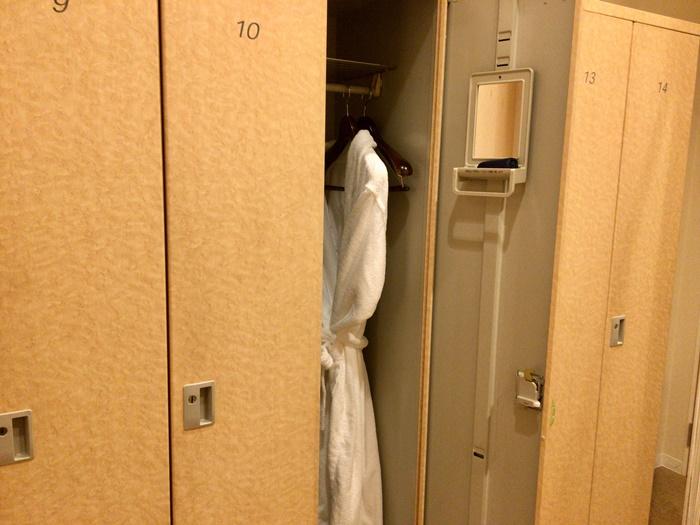 ソシエのロッカールーム