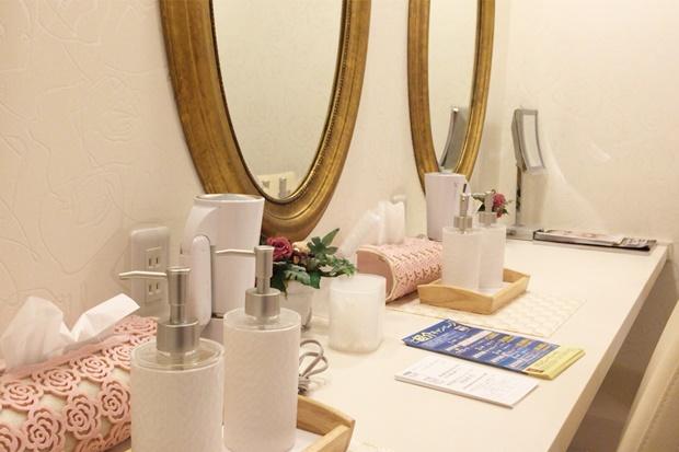 スリムビューティハウス化粧室画像