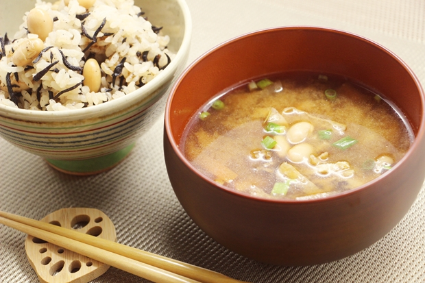 大豆味噌汁