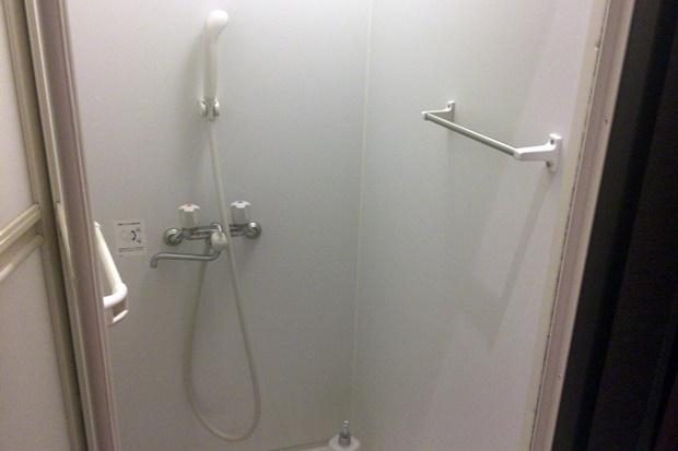 ベルルミエールのシャワー室