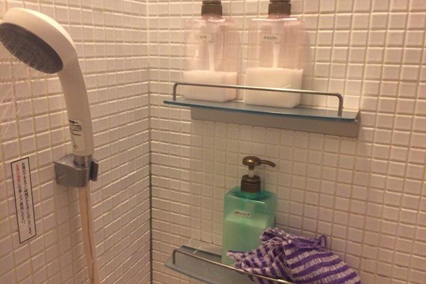 フェイバリックスのシャワールーム