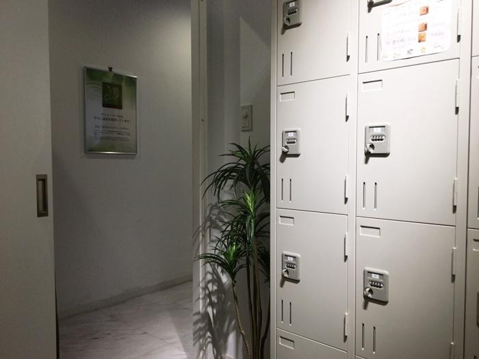 ヴァン・ベールのロッカールーム