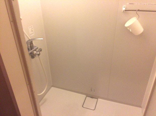 ヴァンベールのシャワールーム